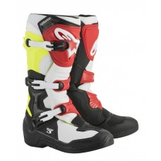 ALPINESTARS TECH 3 MX  BLACK/RED/WHITE