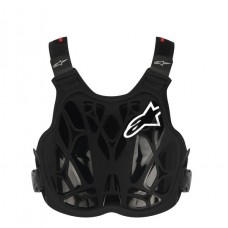 ALPINESTARS A8 LIGHT YOUTH PROTECTOR BLACK/WHITE/RED