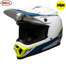 BELL MX9 MIPS HELMET  Torch White/Blue/Yellow