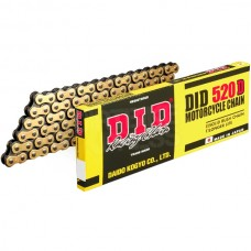DID HDZ Series Standard Chain - Gold Black - 520