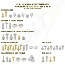 BOLT FULL PLASTIC FASTNER KIT KTM
