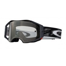 OAKLEY AIRBRAKE GOGGLE JET BLACK SPEED CLEAR LENS