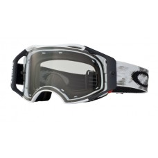 OAKLEY AIRBRAKE GOGGLE MATTE WHITE SPEED CLEAR LENS