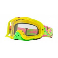 OAKLEY CROWBAR GOGGLE THERMO CAMO PINK/YELLOW/GREEN- CLEAR LENS