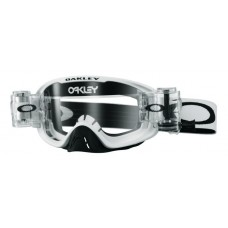 OAKLEY O FRAME 2.0 GOGGLE RACE READY MATTE WHITE - CLEAR LENS
