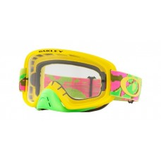 OAKLEY O FRAME 2.0 THERMO CAMO PINK/YELLOW/GREEN- CLEAR LENS